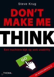 Don't Make Me Think Steve Krug_boek@Bureau Goed Gevonden
