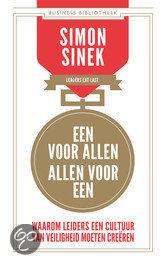 Een voor allen, allen voor een Simon Sinek_boek@Bureau Goed Gevonden