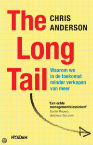 The Long Tail Chris Anderson_boek@Bureau Goed Gevonden